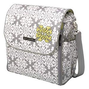 Petunia Pickle Bottom Boxy Backpack Diaper Bag,EUC